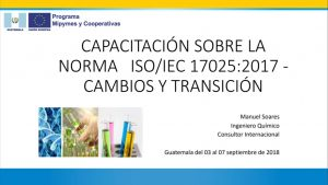 Norma ISO / IEC 17025:2017